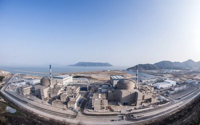 Décontamination du premier réacteur nucléaire EPR au monde à Taishan en Chine