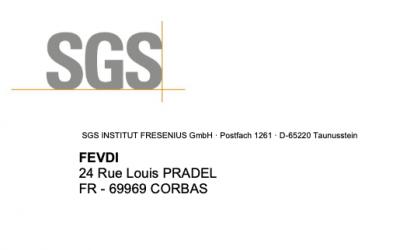 Certification norme EN 14476:2013+A2-2019 de notre gel hydroalcoolique