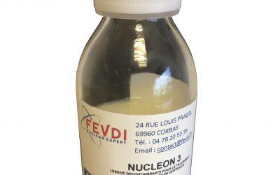 Gamme produits lessiviels FEVDI: NUCLEON 3 et NUTRIUM
